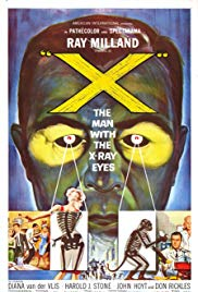 X: The Man with the XRay Eyes (1963)