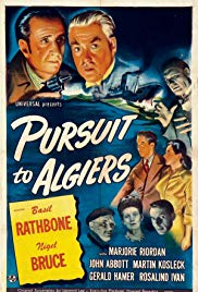 Watch Full Movie :Pursuit to Algiers (1945)